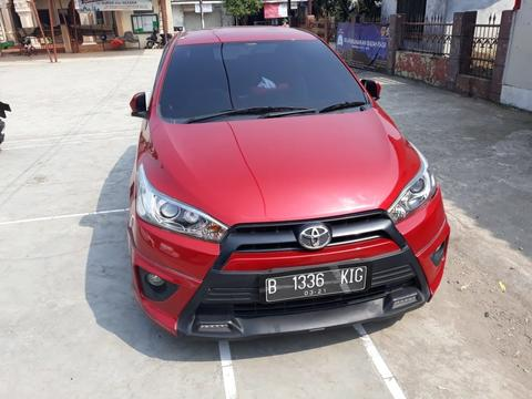 Over kredit Toyota Yaris 2016 Matic