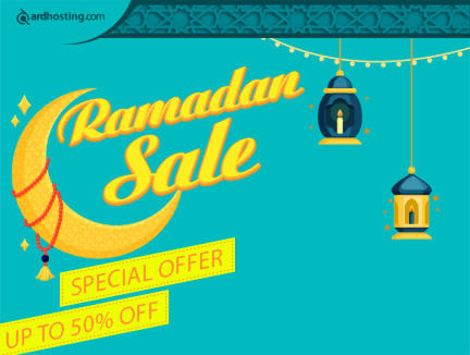 PROMO RAMADHAN 2018 DISCOUNT UP TO 50% ARDHOSTING