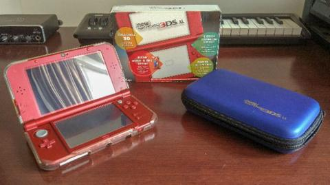 New Nintendo 3DS XL Red OFW