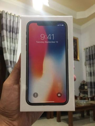 iPhone X 256gb Space Grey BNIB Segel Resmi Greenpeal LL/A COD RekBer Siap
