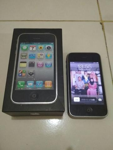 iphone 3gs fullset barang simpanan not nokia