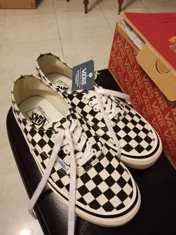 vans authentic anaheim checkerboard