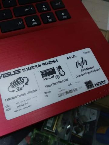 Laptop Gaming Asus A455L core i3 5005U