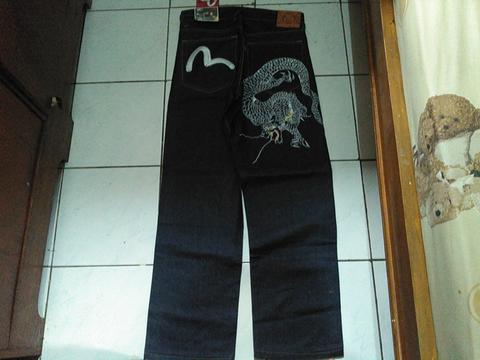 Evisu jeans denim