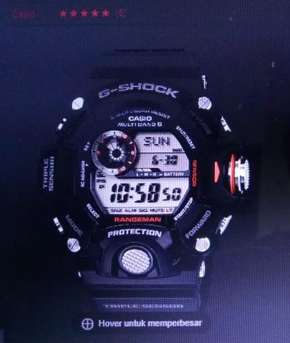 Casio G-Shock Rangeman GW 9400 1DR Resin Band Water Resistant 200 M