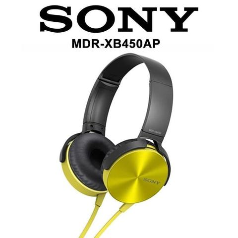 Headset SONY Extra Bass MDR- XB450AP Headphone