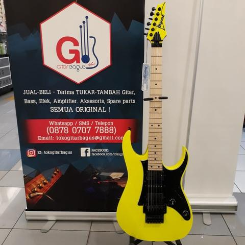 IBANEZ GENESIS JAPAN RG550 DY - DESERT YELLOW 2018 LIMITED EDITION