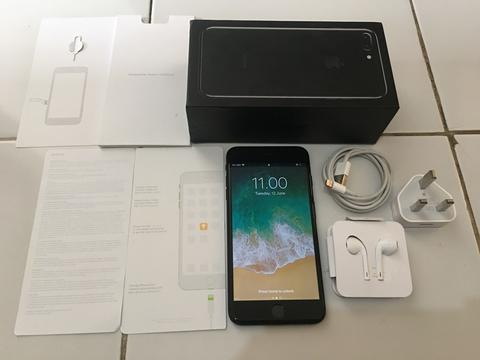 IPHONE 7 PLUS JETBLACK 256GB FULLSET NORMAL MURAAAHHH 9100 SAJA [MALANG]