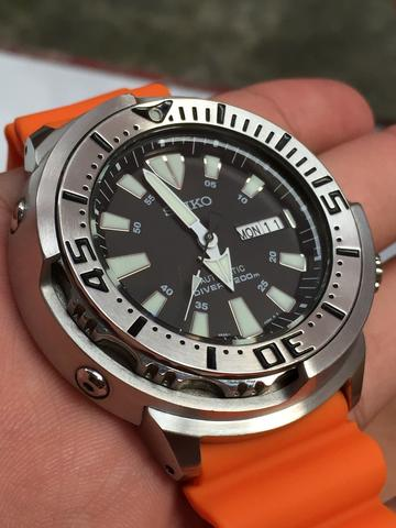 SEIKO SRP637K1 PROSPEX SHROUDED MONSTER BABY TUNA