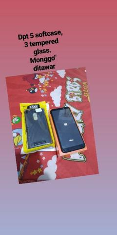 Redmi 5 plus 4gb black mulus