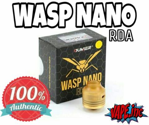 Authentic WASP NANO RDA by Oumier *(not druga goon tsunami drop hadaly