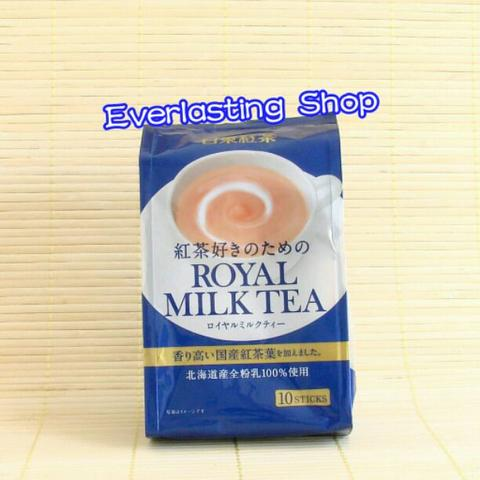 Nittoh Nitto Kocha Instant Royal Milk Tea Powder Instants Black Teh Hitam Susu Bubuk