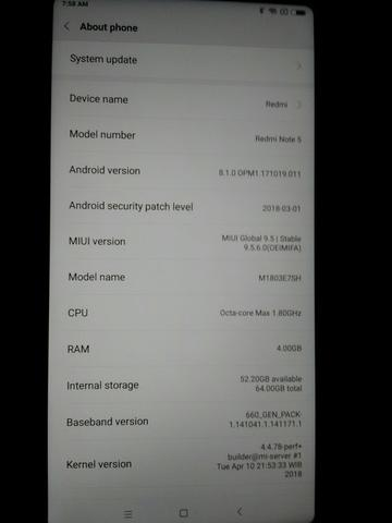 Redmi Note 5 AI Black