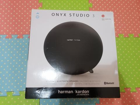 Speaker Bluetooth Harman Kardon Onyx 3 Fullset.. Malang