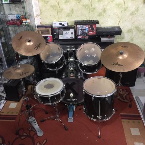 ***BILLY MUSIK*** Drum Yamaha Custom Stage Advantage - Zildjian ZBT Cymbal