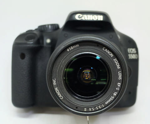 Canon 550D Kit EF-S 18-55mm F.3.5-5.6 IS II Sc 22xxx No Box