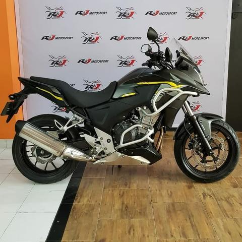 Honda CB500X Warna Hitam List Kuning Tahun 2015 Like New