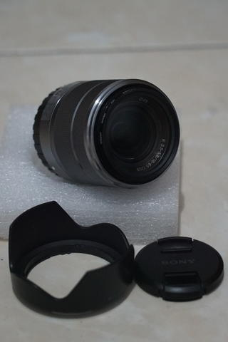 Lensa SONY 18-55mm F3.5-5.6 OSS E-Mount Silver Good Condition