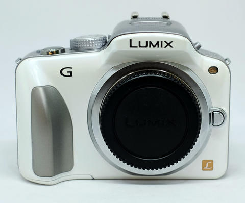 Panasonic Lumix DMC-G3 White Body Only Komplite Mantaps