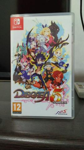 disgaea 5 complite edition nitendo switch