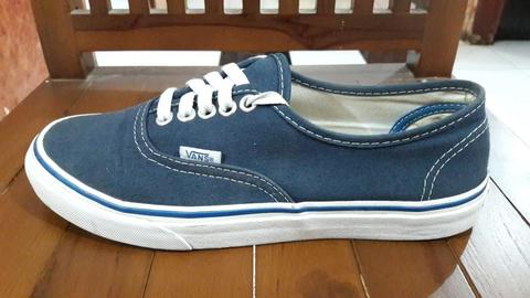Vans Authentic Nautical Blue size 39