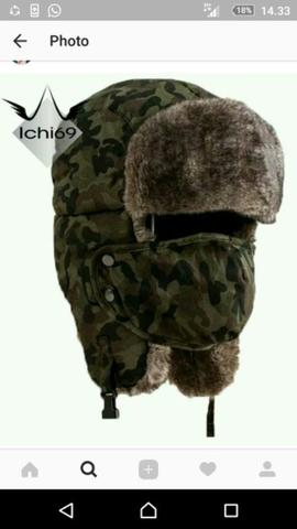 739eced017844 Terjual Topi Rusia Ushanka Winter Hat Import Camouflage Army + ...