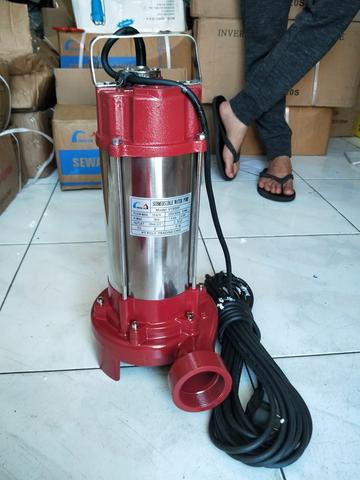 Submersible Pump Pompa Celup Air Kotor 2hp Dirt Stainless Sewage Pump