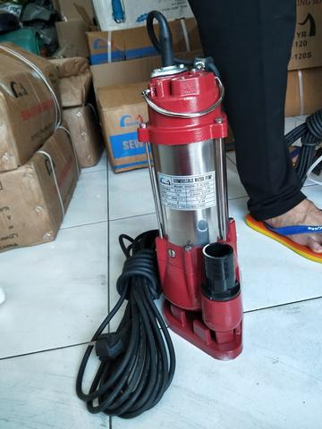 SEWAGE PUMP SUBMERSIBLE STAINLESS WATER PUMP POMPA CELUP AIR KOTOR
