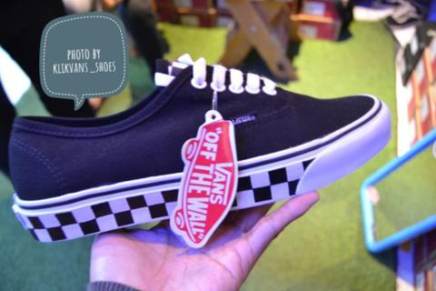 VANS AUTHENTIC CHECKERBOARD BW