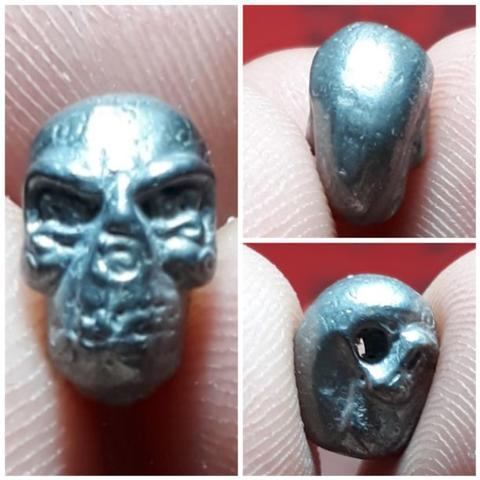 amulet Bone Bead by Phra Arjarn O