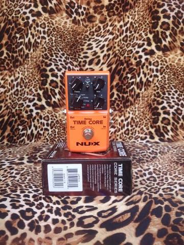 Nux Time Core Delay And Looper Pedal