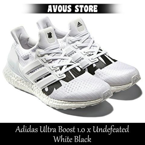 d60bc91b48ef5 Terjual Adidas Ultra Boost 1.0 x Undefeated White Black