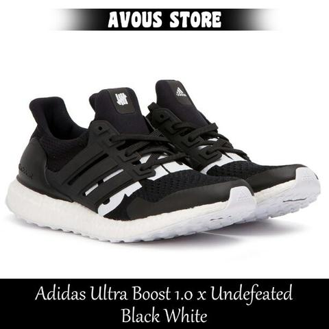8d20eed75a97d Terjual Adidas Ultra Boost 1.0 x Undefeated Black White