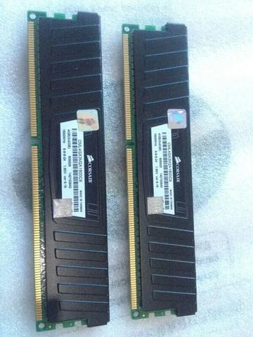 Corsair Vengeance Black (2x2Gb) PC12800 4GB DDR3 (1600Mhz)