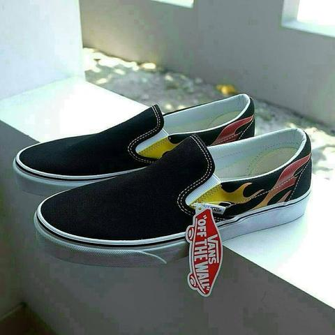 Vans slip on flame size 44/ 10,5 bnib