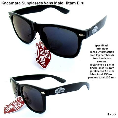 Kacamata sunglasses vans male hitam