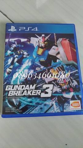 BD PS4 Gundam breakers 3,Need for speed 2015,Project cars reg 3
