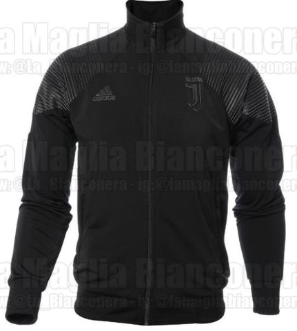 Jaket Anthem Juventus Black 2018-2019