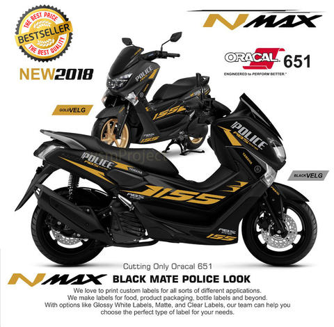 Cutting Sticker N-Max 19 Bestseller