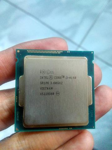 Prosesor intel i3 4160 3,6Ghz socket intel 1150 Haswell Garansi ON