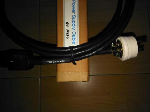 Kabel Power Chord WJ GT-P280 Hi End