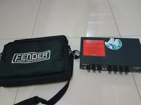 Head Amplifier Bass Fender Rumble 350