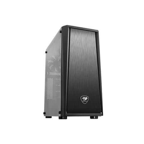 [JoJo CompTech] COUGAR MX340 Tempered Glass Window Mid Tower Gaming Case