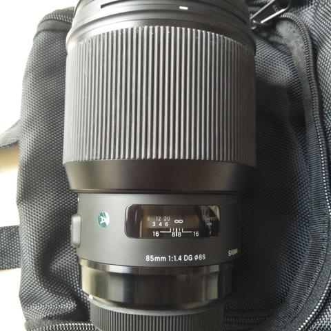 Lensa Sigma 85mm F1.4 DG Art for Canon
