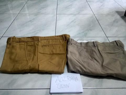 """LP Chinos """"The Executive"""" Size 34 Like New , Murah... 75k incd"""
