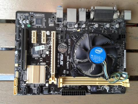 Asus H81M-C + i3 4170 / 4150 Haswell ==> Depok