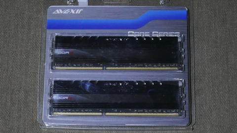 Avexir Core Blue DDR3 PC12800 8GB(2x4GB) Dual Channel
