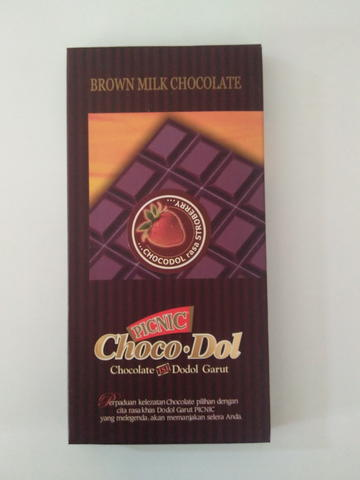 Chocodol Brown Strawberry