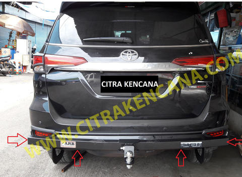 PROMO TOWING ALL NEW FORTUNER