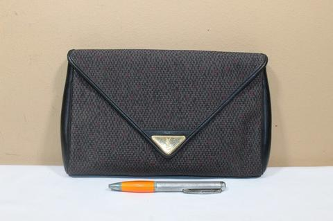 Tas tangan wanita branded YSL Clutch second original